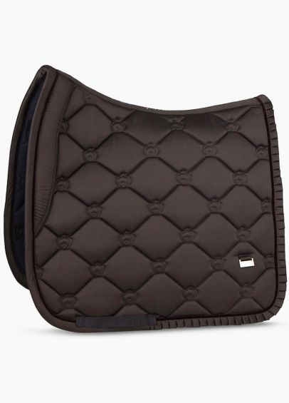 PS of Sweden Ruffle Dressage Pad - Coffee