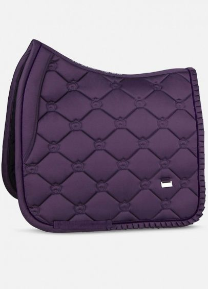 PS of Sweden Ruffle Dressage Pad - Plum