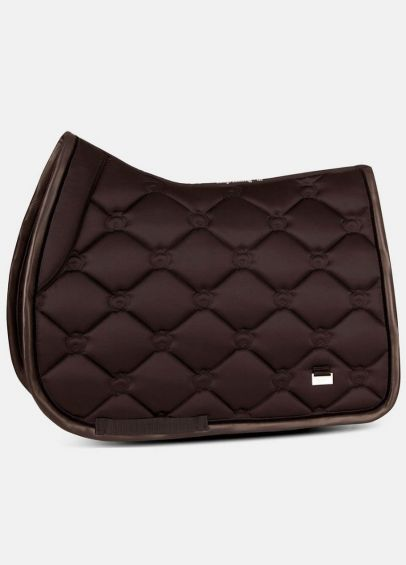 PS of Sweden Monogram Jump Saddle Pad - Coffee