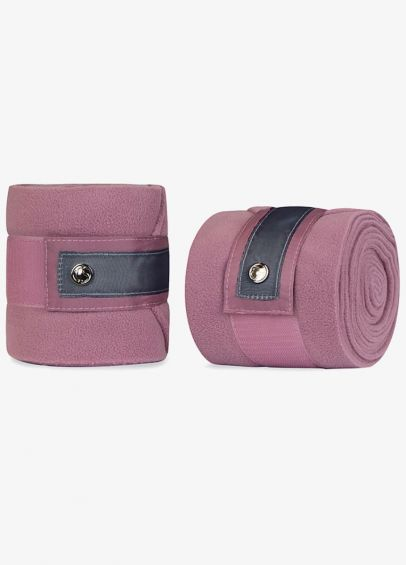 Ps of Sweden Bow Polo Bandages - Roseberry