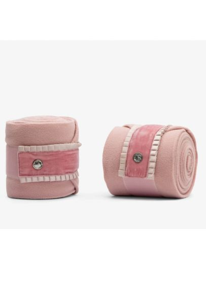PS of Sweden Ruffle Polo Bandages - Pink