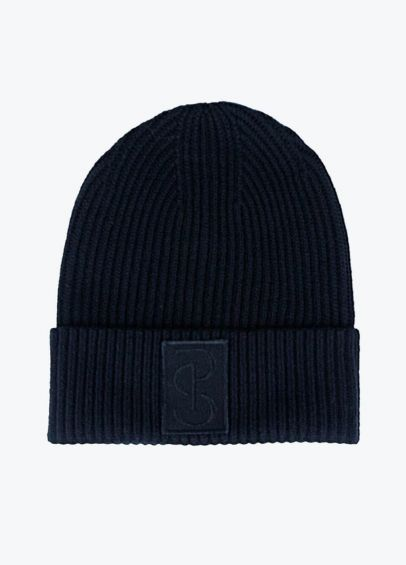 PS of Sweden Sally Knitted Beanie - Navy