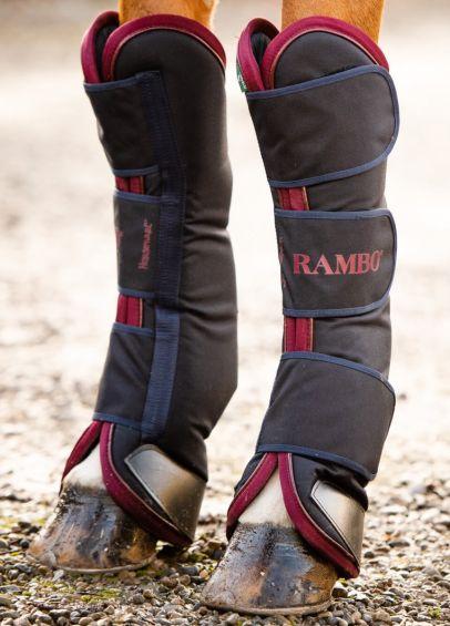 Rambo Travel Boots - Navy/Burgundy
