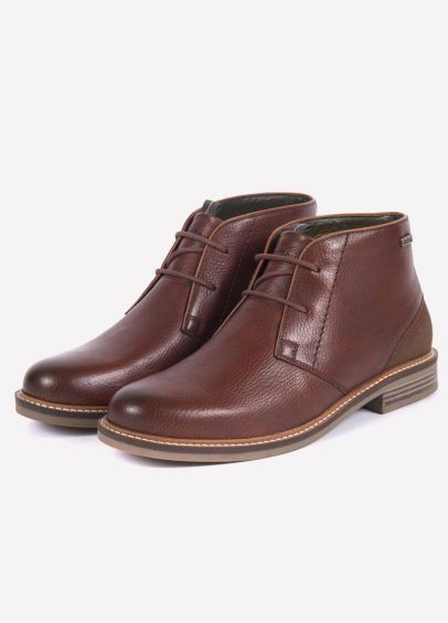 Barbour Mens Readhead Boots - Dark Brown