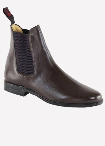 Regent Junior Steed Jodhpur Boots - Dark Brown