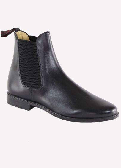 Regent Junior Steed Jodhpur Boots - Black
