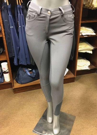 Pikeur Ladies Rayla Grip Breeches - Slate