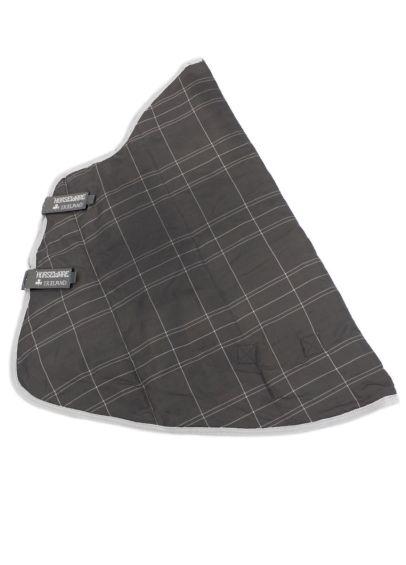 Rhino Stable Hood - Charcoal/Grey/White Check