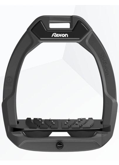 Flex-On Safe-On Stirrups - Black/Black