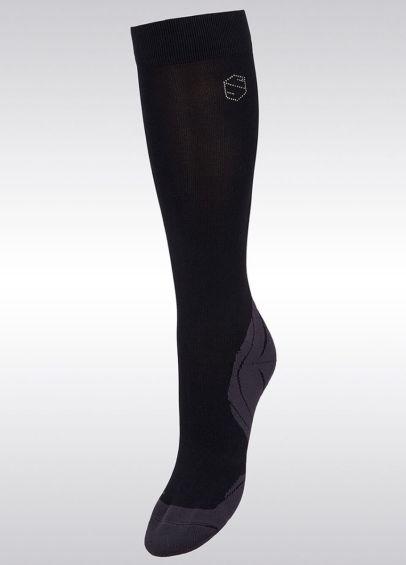 Samshield Balzane Aimy Socks - Black/Rose Gold