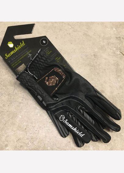 Samshield V-Skin Swarovski Gloves - Black/Rose Gold