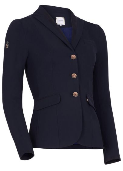 Samshield Louise Competition Jacket - Navy/Pink Gold