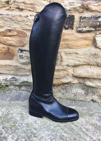 Sarm Hippique 1600 Leather Riding Boots - Black
