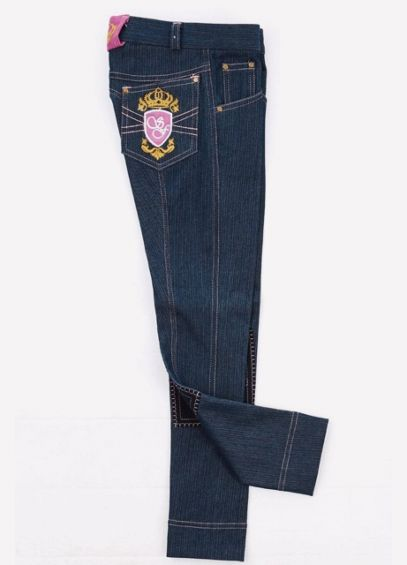 Sherwood Girls Hatton Jodhpurs - Dark Denim