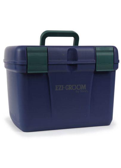 Shires EZI-GROOM Deluxe Grooming Box - Navy