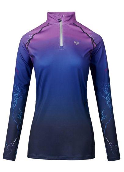 Shires Aubrion Maids Hyde Park XC Shirt - Purple