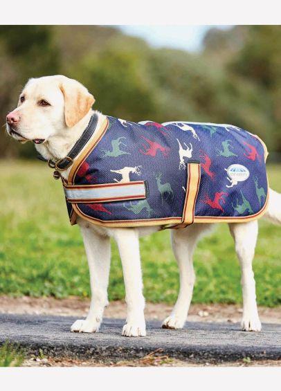 watherbeeta Dog Coat in Stag Print