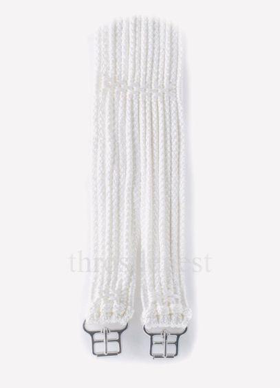 Stubben Cord Girth - White