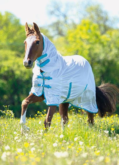 Shires Tempest Original Fly Combo Rug - White