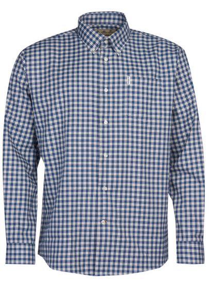 Barbour Thornley Thermo Weave Shirt - Navy