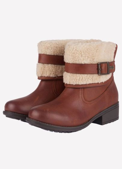 Barbour Ladies Verona Boots - Brown