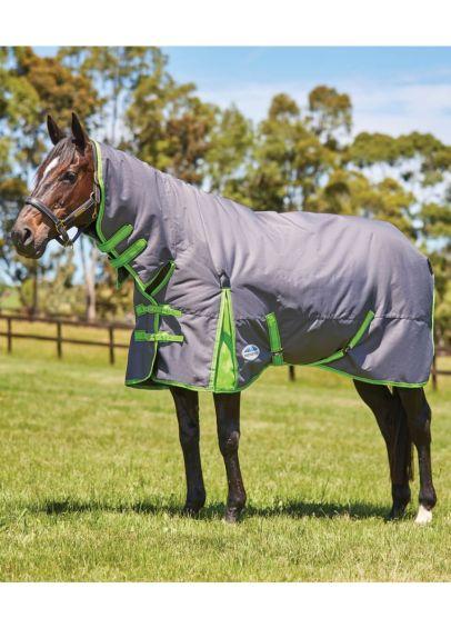 Weatherbeeta ComFITec Essential Combo Neck Medium - Grey/Lime
