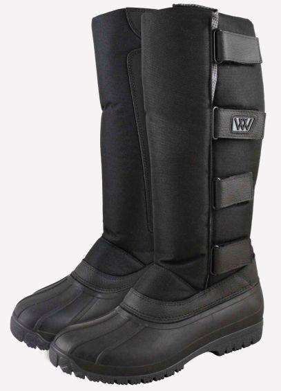 New Woof Long Yard Boot - Junior - Black