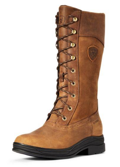 Ariat Ladies Wythburn Waterproof Boots - Weathered Brown