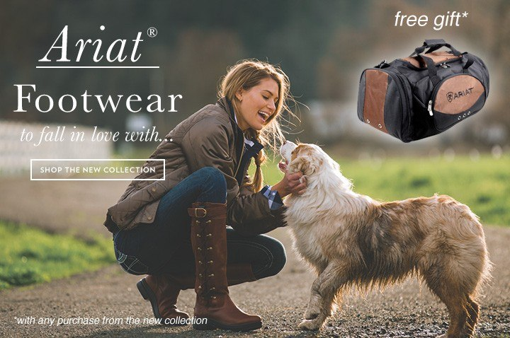 Throstlenest Saddlery: Ariat, Footwear to fall in love with