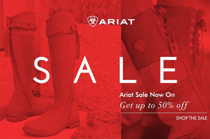 Ariat Brand Page